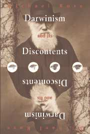 Darwinism and Its Discontents Cover